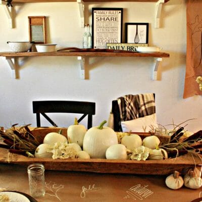 Create A Family Friendly Fall Tablescape