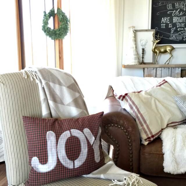 More Than Just A Pillow- 12 Days of Farmhouse Christmas