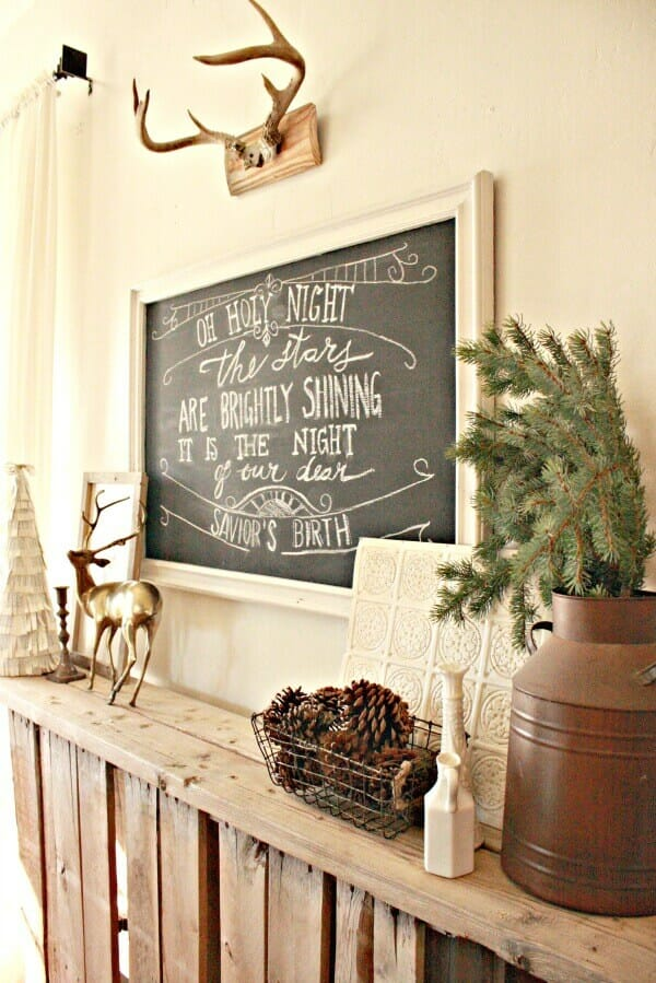 How to Create a Mirror Chalkboard