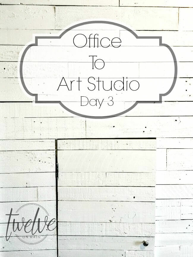 Office To Art Studio Day 3
