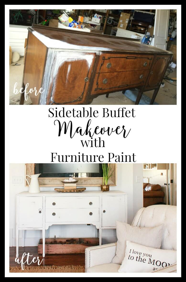 Check out this awesome furniture makeover from start to finish! See the tips and ticks I use to create a gorgeous piece of funriture everytime.