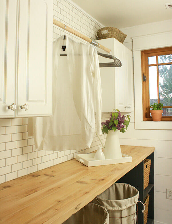 One Room Challenge- Farmhouse Laundry Room Reveal!