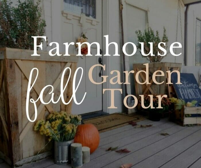 My Farmhouse Fall Garden Tour