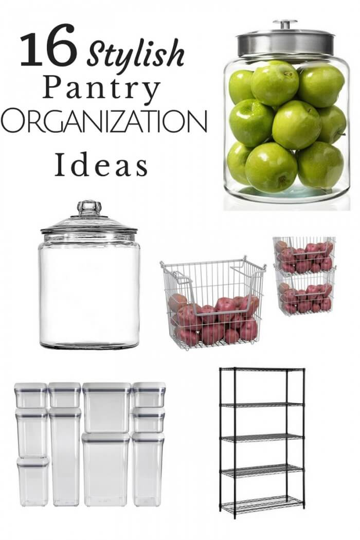 Get your home set up right with these 16 Stylish pantry organization ideas!