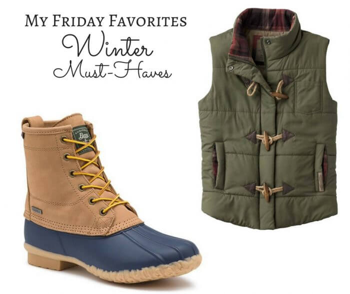 My Friday Favorites | Winter Must-Haves