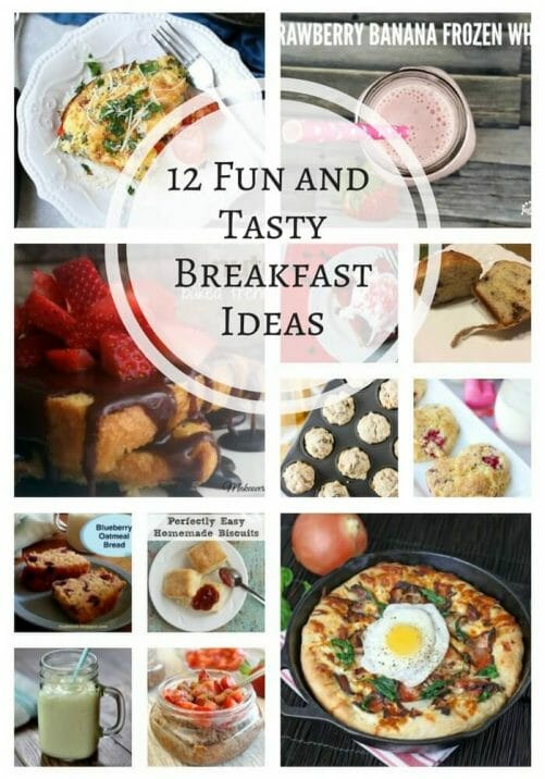 12 fun and tasty breakfast ideas to make your mornings more enjoyable!