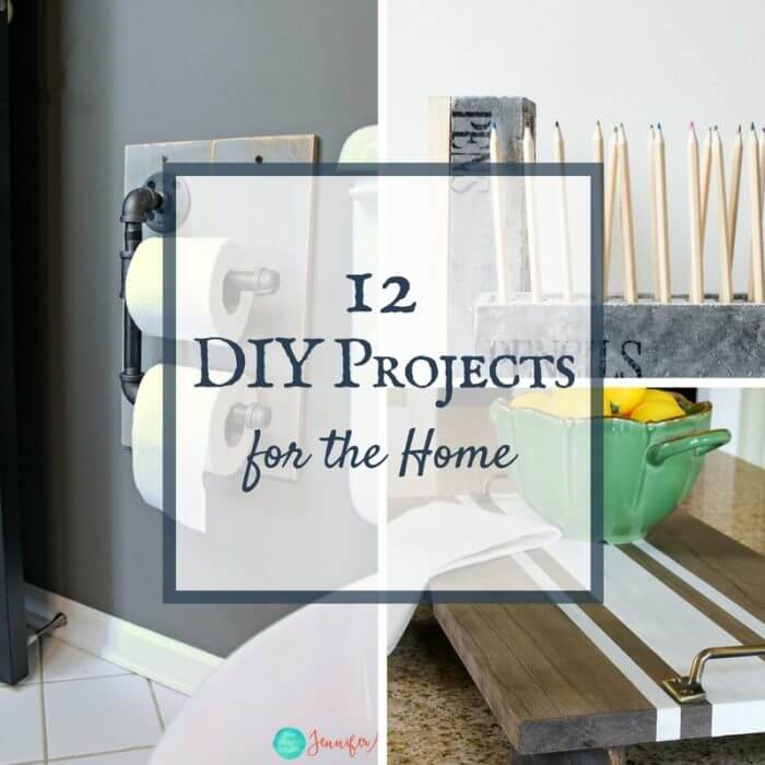 12 Easy DIY Projects for the Home | Merry Monday