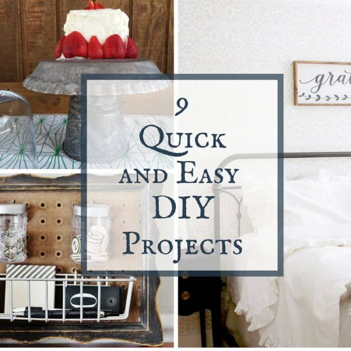 9 Quick and Easy DIY Projects for Your Home