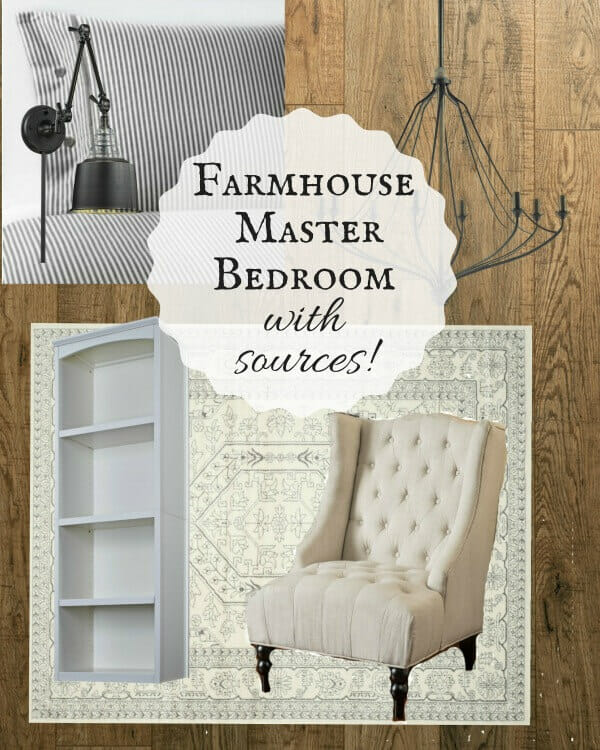 Come follow along as I complete a farmhouse master bedroom remodel in less than 6 weeks! The final reveal is going to be so great!