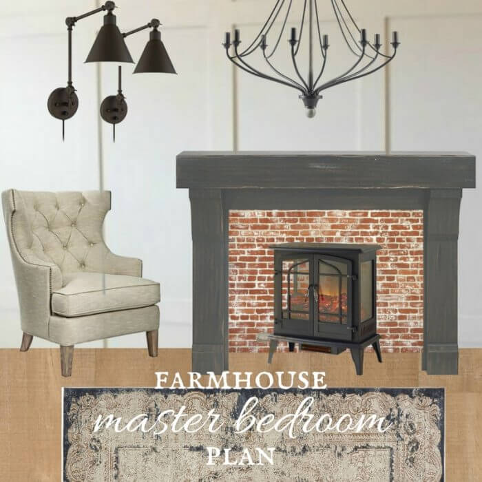 Its time for the One Room Challenge and I am excited to reveal my farmhouse master bedroom plan! This space is going to be amazing!