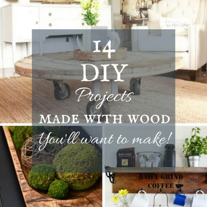 14 Easy Wood Projects You Will Want to Make Today