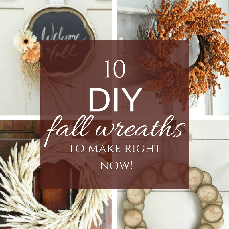 10 DIY Fall Wreaths to Make Today!
