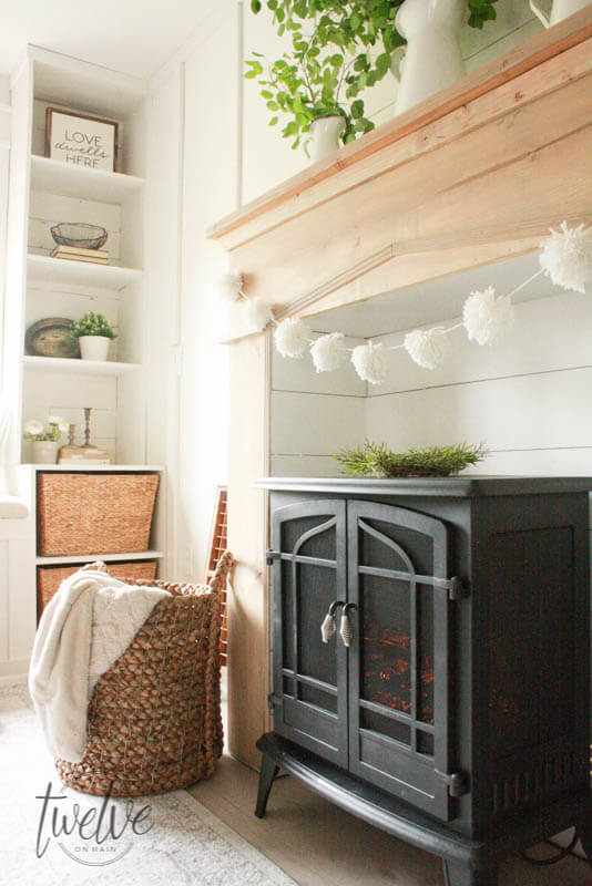 Creating a faux fireplace can be a wonderful way to add warmth and character to any space.