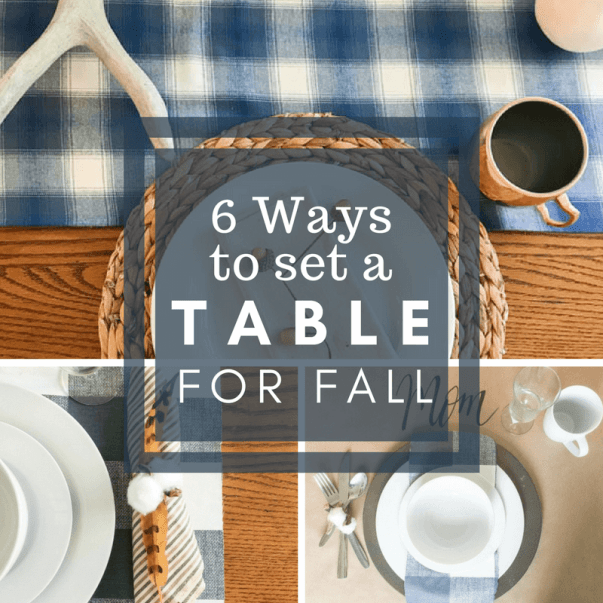 6 helpful fall tablescaoe ideas that will take your table from drab to fab!