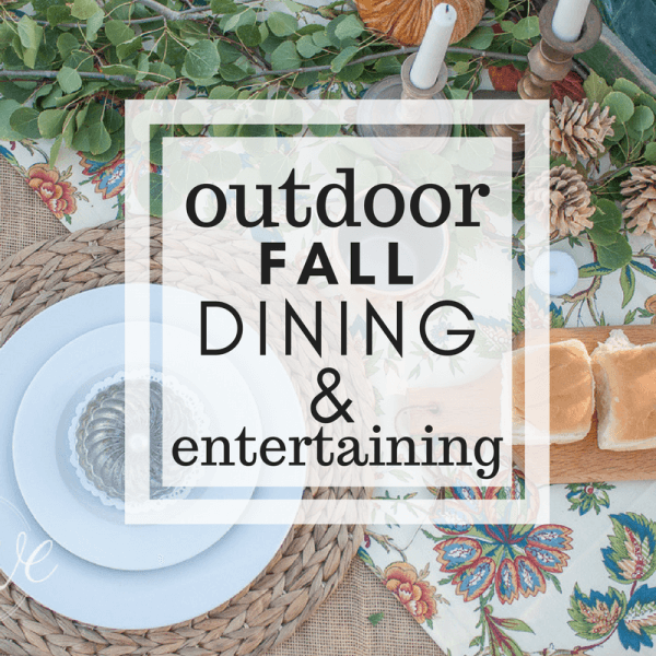 How to Rock an Outdoor Fall Table