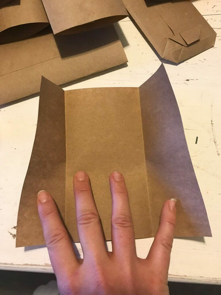 How to make an easy paper envelope out of butcher paper
