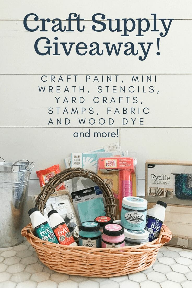 Craft Supply Giveaway | A Big Thank You