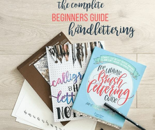 Everything you want to know about how to learn handlettering!