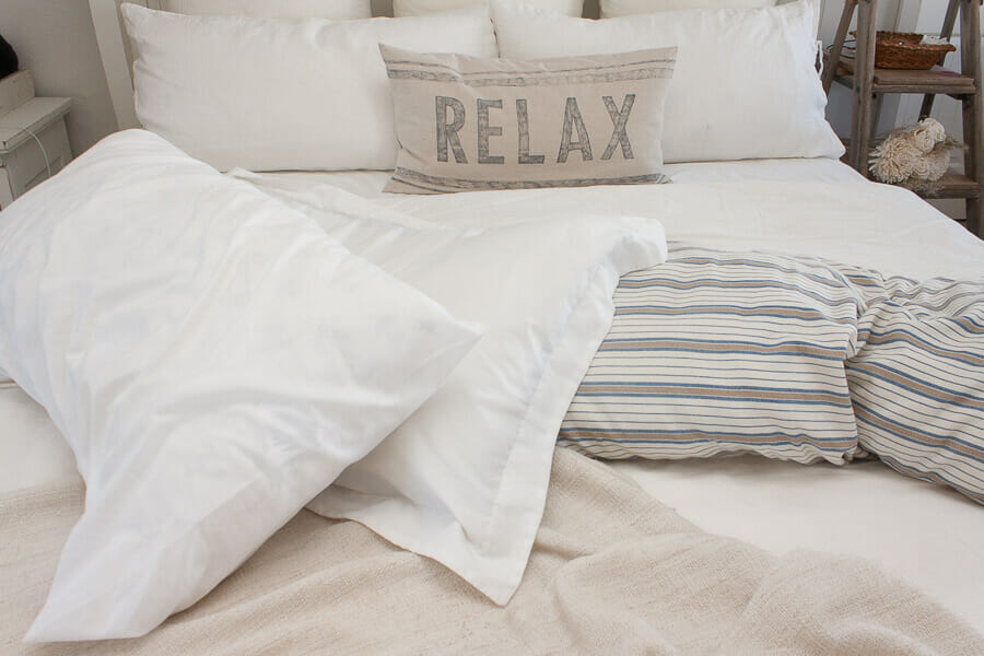 A great solution to your old bed pillows!
