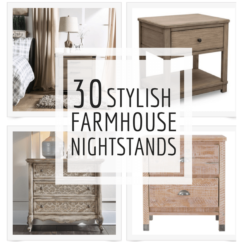 30 Farmhouse Nightstands That Will Transform Your Bedroom