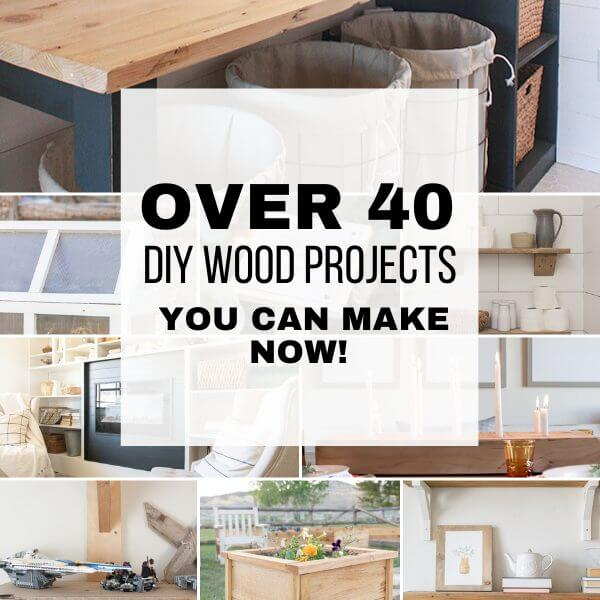 Over 40 Easy DIY Wood Projects For 2021