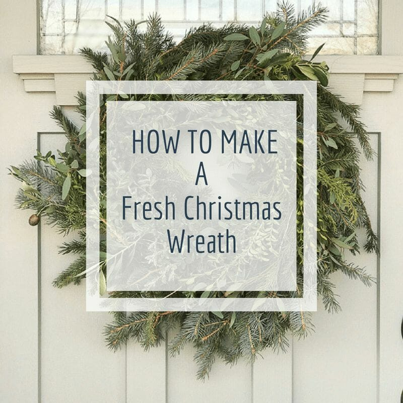 Make Your Own Fresh Christmas Wreath Like a Pro