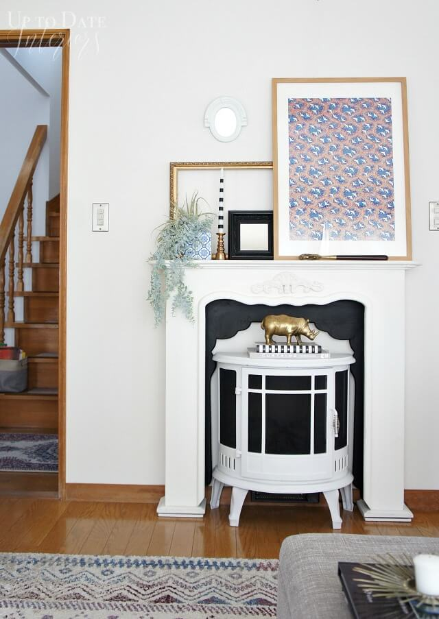 DIY faux fireplace ideas for your home