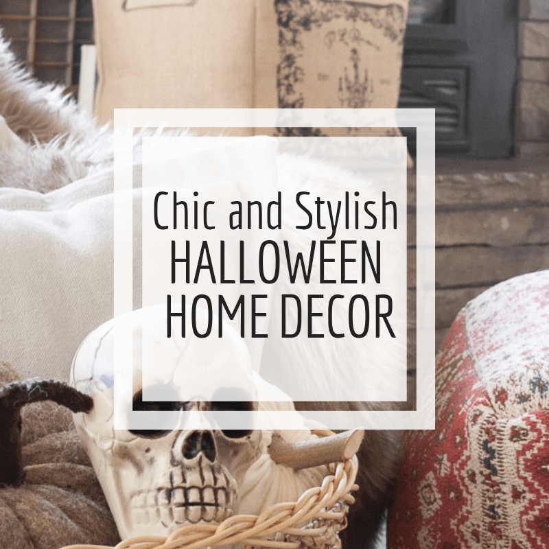 Great Ideas for Chic and Stylish Halloween Home Decor