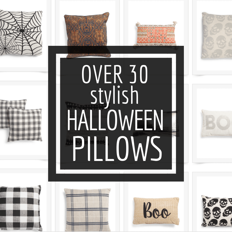 30 Stylish Halloween Pillows You Need to Get Your Hands On