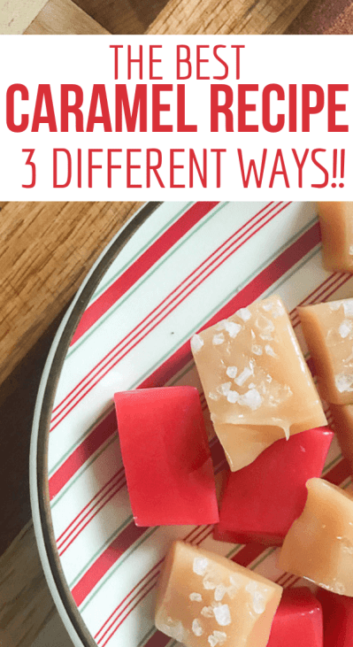 Soft caramels are the ultimate treat!  Come try the easiest recipe ever!  Plus!  You can make cinnamon caramels, black licorice caramels, salted caramels, and the classic original caramels as well!  You cant go wrong with this recipe!