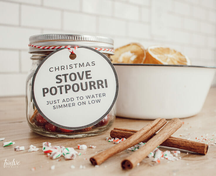 Give this Christmas stovetop potpourri to friends and neighbors as a wonderful Christmas gift this year!