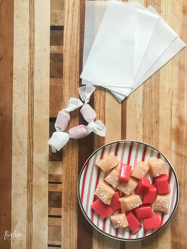 How to make tasty soft caramels in 3 different flavors!