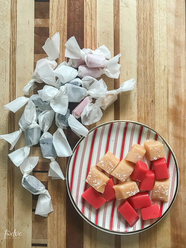 Yummy soft caramels with full recipe and 3 different flavors you can make!