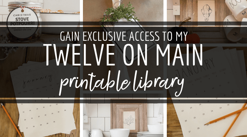 Click here to get FREE exclusive access to my entire printable library!
