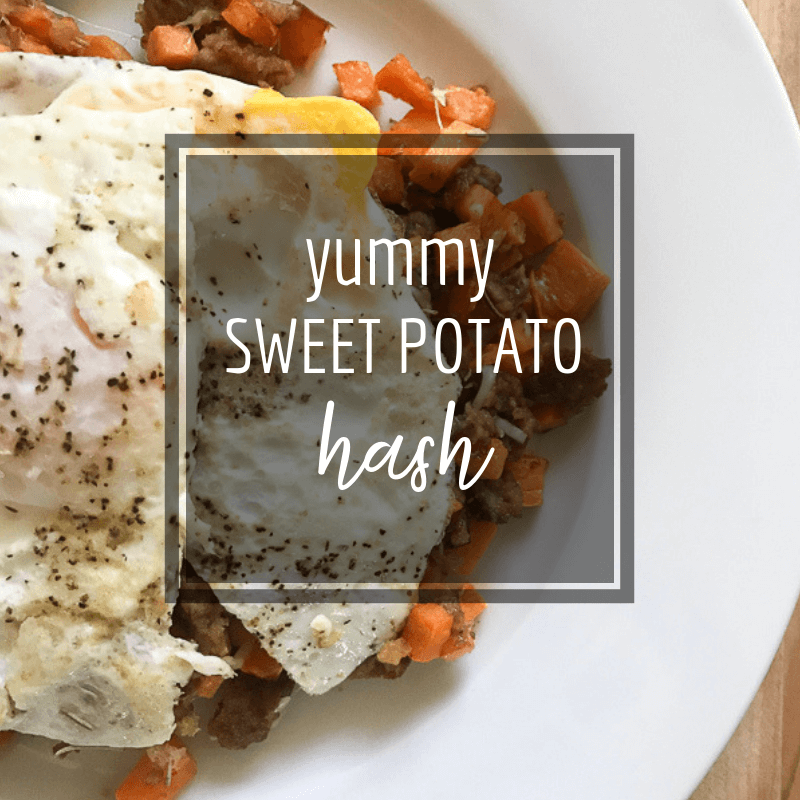 The Tastiest Sweet Potato Hash You'll Ever Eat!