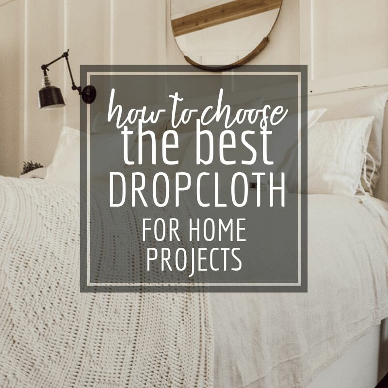 How to Choose the Perfect Drop Cloth Canvas for Home Decor