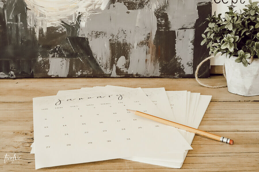 I love my new monthly calendar!  Did you know that you can get it for FREE?  Click here!