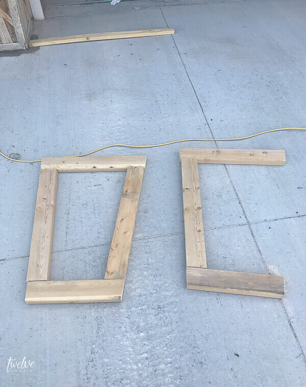 How to build large pallet planter boxes