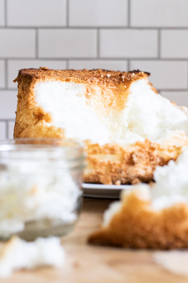 Image of angel food cake