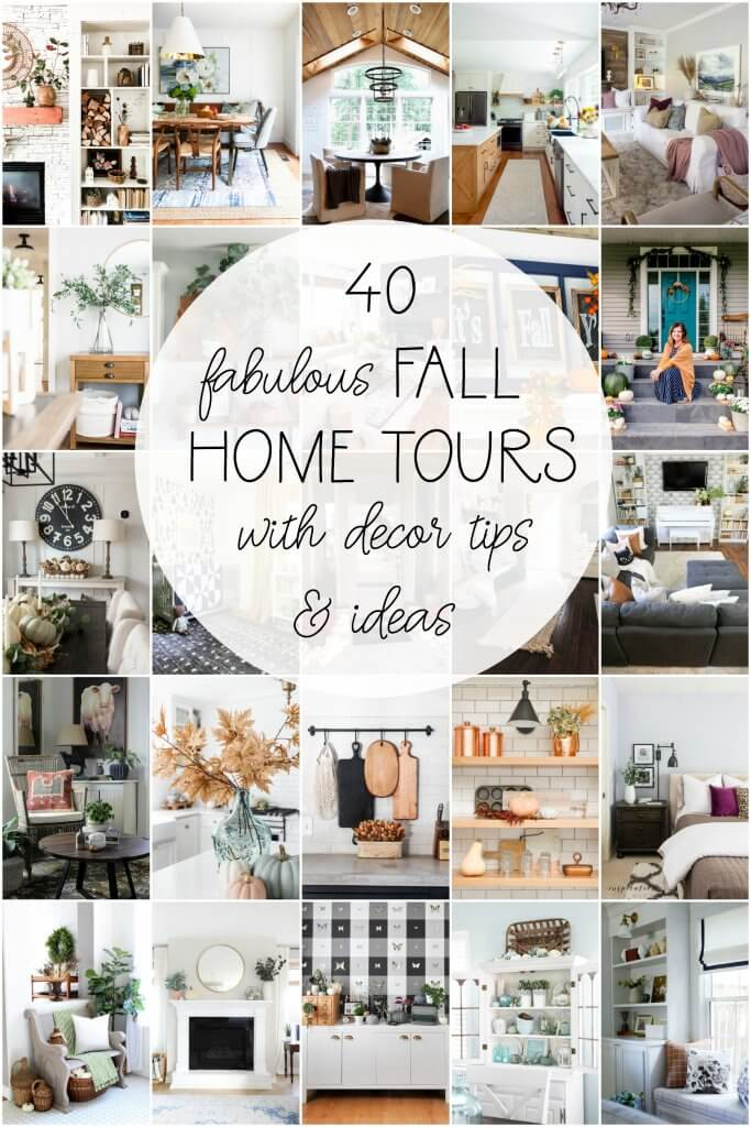 40 fabulous fall home tours with decor tips and ideas!
