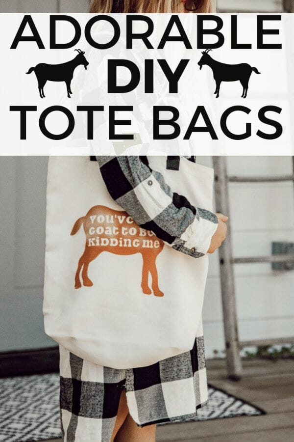 Make these super cute canvas tote bag ideas with the new Cricut Infusible Ink! Check this post out to learn all you need to know about this Cricut Product!