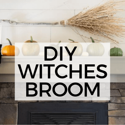 How to Make Witches Broom from Items from Your Backyard