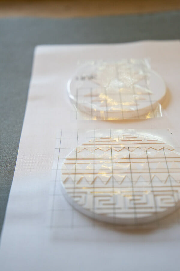 How to make stylish coasters with the new Infusible Ink by Cricut.