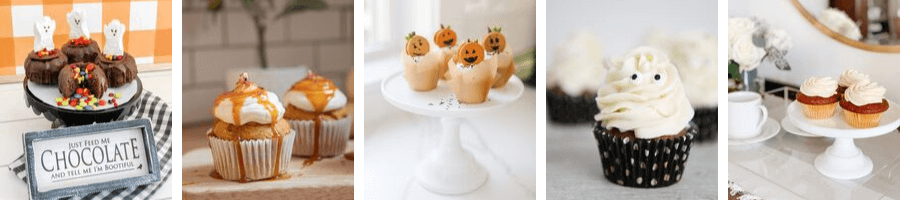 cupcake ideas for fall and Halloween