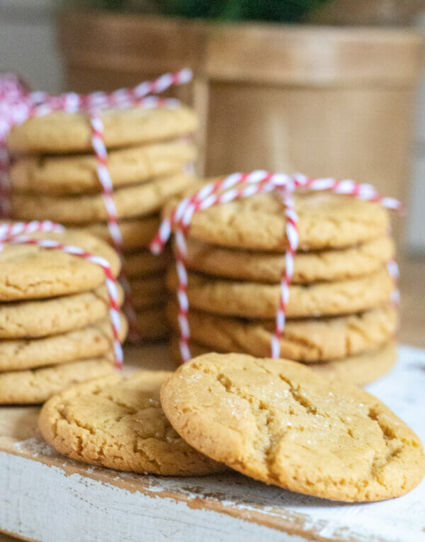 Soft and Chewy Ginger Cookies Perfect for the Holidays