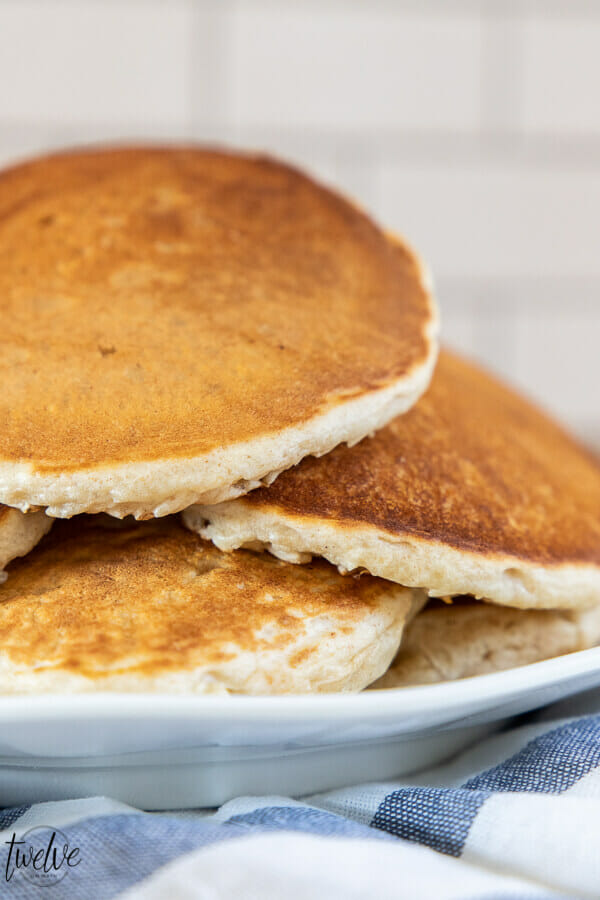 Get this amazing sourdough pancake recipe as well as 7 other must have sourdough recipes right here!