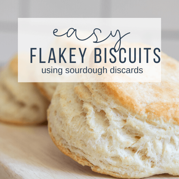 Easy and Delicious Flakey Biscuits Using Sourdough Discard