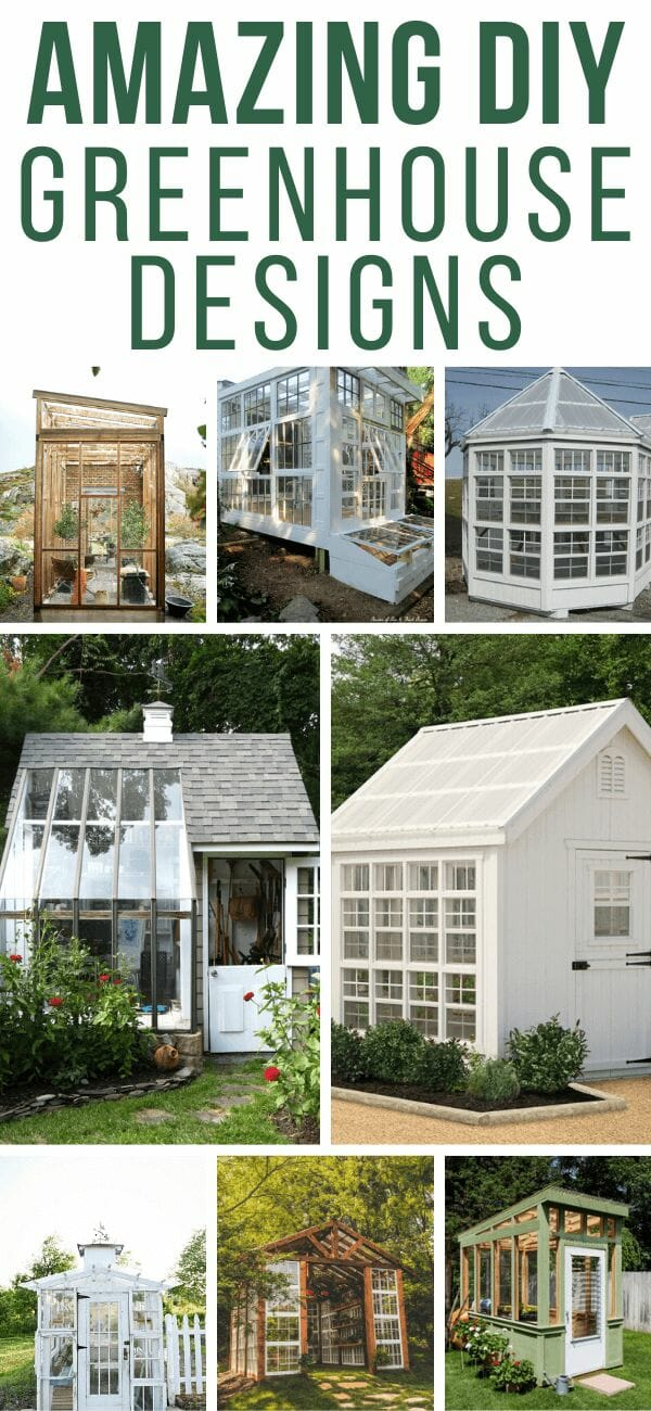 Swoon Worthy Greenhouse Designs to DIY or Buy