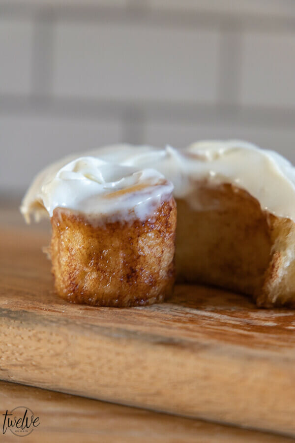 Oh my gosh these sourdough cinnamon rolls are amazing!  They are light and fluffy and take less time to make than traditional sourdough breads.