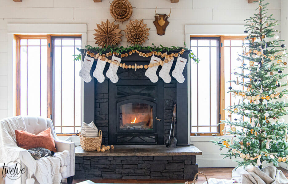 How to Paint a Stone Fireplace with a Paint Sprayer